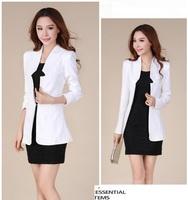 Big Size M-3XL Women Cute Lollipop Color Long Sleeve Thin OL Blazer Coat Free Shipping 5011