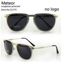 High-quality gifts CR39 Pilot mens sunglasses polarized sport driver,Metallic simple sense sunglasses men polarized brand