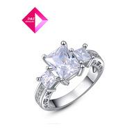 D&Z  Classic Genuine Austrian Crystals Fashionluxury proposal wedding ring ,ring series