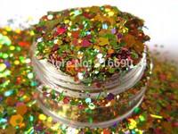 Nail Art Glitter Mix AUTUMN BLING Fall mix for Nail polish