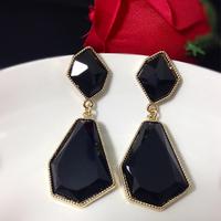 Free shipping! Women Fashion Classic Style Geometry Alloy Drop Earrings