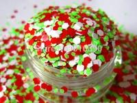 Neon Solvent Resistant Glitter Mix