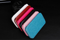Leather Stand Case for Samsung Galaxy S3 i9300 SIII Flip Style With Card Holder 6colors