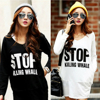 Sports Clothing Sweatshirt Casual Women Hoodies Sport Suits Long Style 3D Letters Print Pullover Tracksuit Street Clothes NZH002