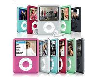 "Hot sale 6 Colors 8GB 2""LCD Screen MP3  Multimedia music Video Player Music Radio FM"