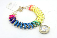 fashion  Brand Watch women ladies Crystal quart wrist Watch