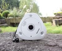 Hikvision camera,English DS-2CD6332FWD-I,3MP Fisheye Camera,WDR,360 degree view angle, Network IP camera w/IR,IP66,HD IP Camera