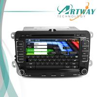 "7"" VW Car DVD Player with GPS Can-Bus Analog TV Wifi 3G RDS for VW  MAGOTAN Bora Caddy Touran Skoda Superb GOLF5 GOLF6 Passat B6"