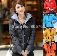 new Winter jacket women clothing winter coat women winter 5 colors hooded overcoat women jackets free shipping