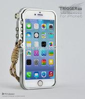 Trigger Metal Bumper for iPhone 6 6G 4.7 inch 4th Design Premium Aviation Aluminum Frame Hard Case Tactical Edition Tough Armor