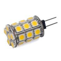 G4 led Bulb 27 SMD 5050 Bar Tower DC 12V 360 Degree Warm White /White Led Lamp