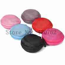 3Pcs/Lot Portable Earphone Headphone Earbuds Box Hard Coin Key Holder Case Organizer Storage Bag Colors Randomly(China (Mainland))