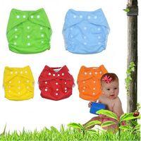adjustable reusable Washable breathable soft cotton  Baby Cloth Diapers Waterproof nappy wizard fraldas reutilizaveis  7 colors