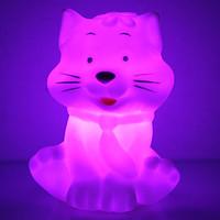 New decoration kids Led night light animal Cat LED Night Light colorful night light baby children night light toy free shipping