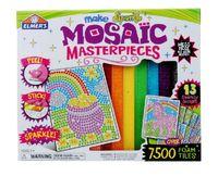 Elmer 3D Puzzle , Children baby stickers hand-made sticky . Flash toys Mosaic tiles ,wooden toys brinquedos  eraser