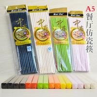 China melamine melamine resin plastic colored chopsticks chopsticks dining hotel restaurant wholesale 27cm