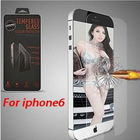 For iPhone Air 6 4.7 inch Premium Tempered Glass Screen Protector for iPhone6 Toughened protective film Retail Package 10pcs