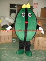 2014 New arrival Adult cartoon lovely watermelon mascot costume fancy dress party costume adult size