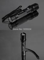 long-range waterproof xenon lamp imported led mini home riding outdoor LED  flashlight shocker  lamp free shipping