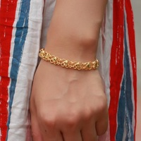 OPK  KS379  TOP quality ladays bracelet 18Kgold never fade &anti-allergy ,womens trendy chain&link  bracelet .free shipping.