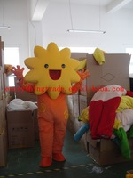 2014 New Adult cartoon lovely star doll mascot costume fancy dress party costume adult size