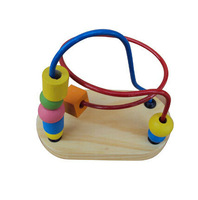 11*11*6cm Wooden Kids Math Toys for  Baby Children Learning Educational Toys & Muticolor
