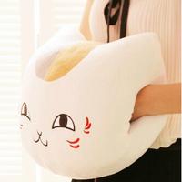 Super cute soft winter plush Natsume Yuujinchou cat / kitty toy hand warmer pillow/cushion,Christmas&birthday gift for girls,1pc
