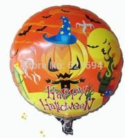 Halloween pumpkin Party decoration balloon supplies classic Toys Happy balloons pumpkin ballons for balls helium baloes globos