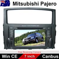 "7"" Car DVD Player Stereo GPS Nav Radio BT IPOD For Mitsubishi Pajero 2006-2013 WITH CAN BUS COTEX A6 ARM 11 WINDOW CE 6.5"