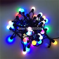 String Fairy Light Christmas Decorative Lamp 50LED Small Ball Shaped
