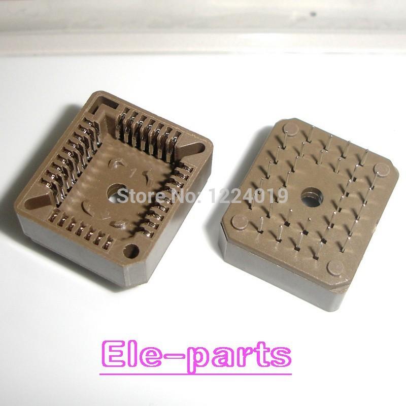 20 PCS PLCC32-DIP IC Socket , PLCC32 DIP Socket adapter , 32 Pin PLCC Converter(China (Mainland))
