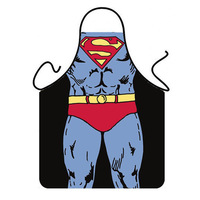 TB050 Sleeveless apron Novelty Funny Kitchen Cooking Superman Aprons Bar Party Dress For men lovers gift kitchen apron 56*72cm