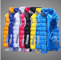New women's warm vest Autumn Cotton Padded Vest Diamonds Stretch Casual veste Down Jacket Coat Clothing Women's Fashion Vests