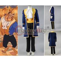 Custom Made Beauty and the Beast Prince Adam Cosplay Costume Halloween Masquerade Cpstume