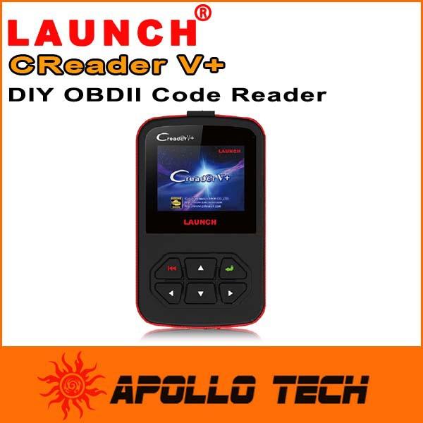 Оборудование для диагностики авто и мото LAUNCH CReader V + OBD2 CReader V 100%