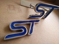 ST Emblem Front Grille Emblem ST Rear Trunk Badge [Emblems] [Q'S] 07504