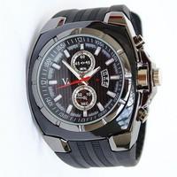 Men Sports Watches Quartz Movement Silicone Strap Analog Display Military Wristwatches Relogios Masculinos 2014 Fashion 1002