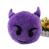 мягкие emoji дьявола настроения подушка подушка декор дома игрушка кукла Новинка