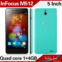 Original Foxconn Infocus M512 4G FDD LTE Qualcomm MSM8926 Phone 5.0'' HD IPS Gorilla Glass 1GB 4GB OTG Android 4.4 NFC