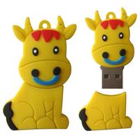 Free Shipping Donkey  USB Drive Full Capacity 1GB/2GB/4GB/8GB/16GB/32GB/64GB Animal USB Flash Drive