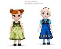 Free shipping 12inch 30cm New toy Frozen Doll Sharon Doll With Good Gift For Girls Princess Elsa and Anna Dolls In Stock!