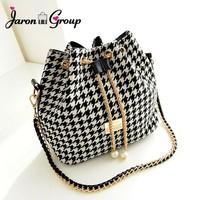 Jaron Group Flower Printed Women Bag Famous Designer Ladies Handbags Chain Shoulder Messenger Bags Crossbody Bolsas Femininas