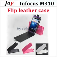 infocus M310 flip leather Case infocus M310 Flip Case Pu leather Case for 5.0 inch infocus M310 Mobile Phone Free Shipping