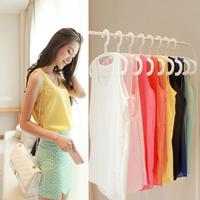 Hot sale ! Casual Women Chiffon Blouse Sleeveless Candy Colors Woman Clothes Tops Blouses Blusas Camisas Femininas Freeshipping