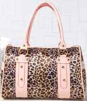 2014 Winter new Vintage fashion Messenger bags Europe and America ladies shoulder bag Leopard women handbag 32*22*11cm SJ-43