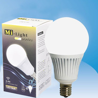 FUT011 Milight Series E14 5W AC86-265V 350-370LM 2700-6500K Color Temperature And Brightness Adjust Wifi 2.4Ghz LED Bulbs