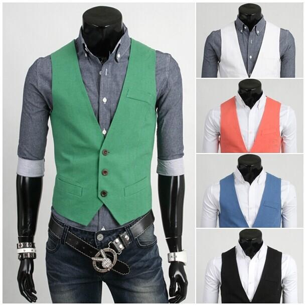 Мужской жилет Vests Camisas Masculinas Roupas 01bx008