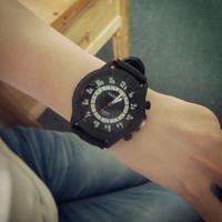 Hot 2014 best selling fashion watch Wristwatches sports brand silicone quartz watch for men women 8578