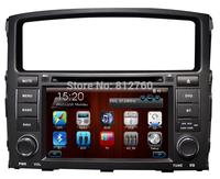 "7"" Car DVD GPS for Mitsubishi Pajero (2006-2011) V97/V93 Navigation TV Ipod BT Radio RDS CAN-BUS Free GPS map Free shipping"
