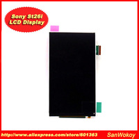 1PCS Original For Sony Xperia J ST26i LCD Display Screen Replacement Free Shipping